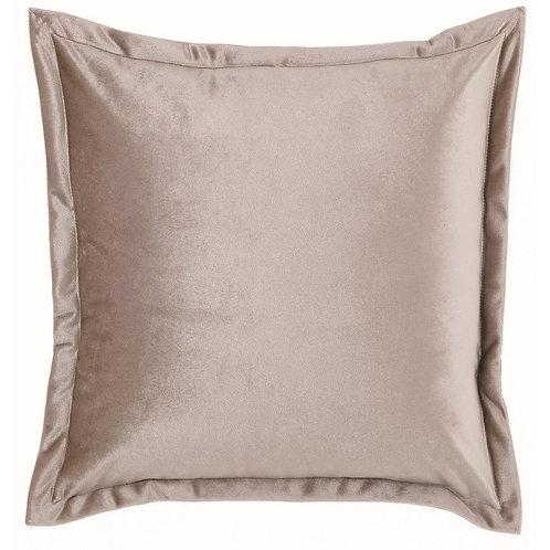 Tempera - Cuscino velluto beige 45x45