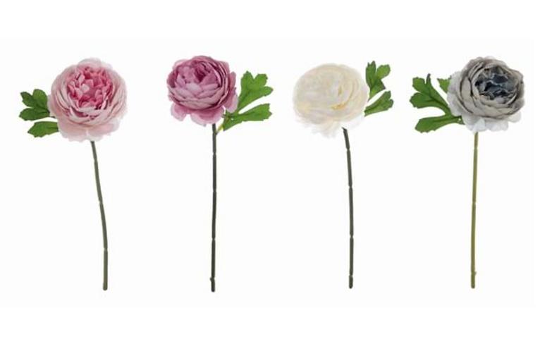 Garden Flowers - Set 4 peonie assortite