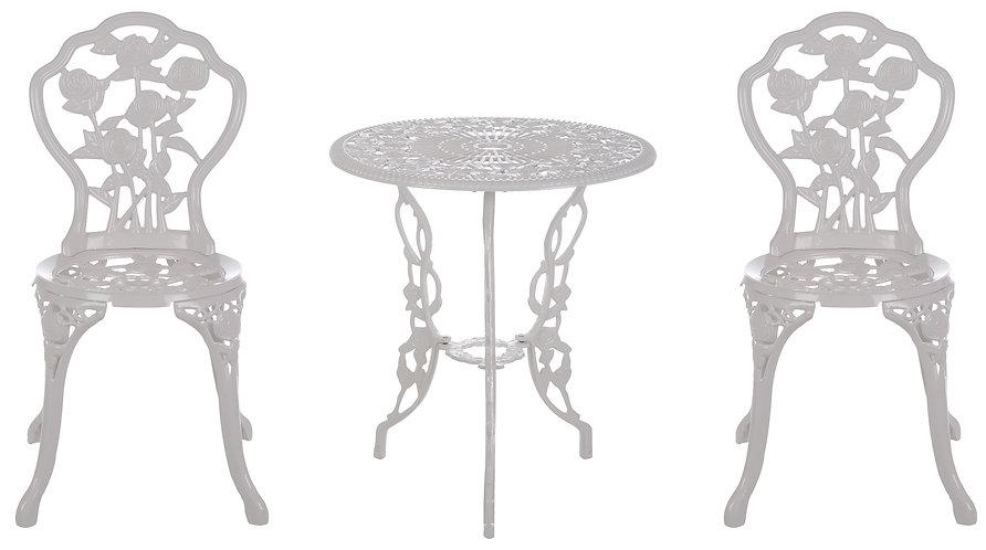 Il Giardino Armonico - Set tavolo e 2 sedie