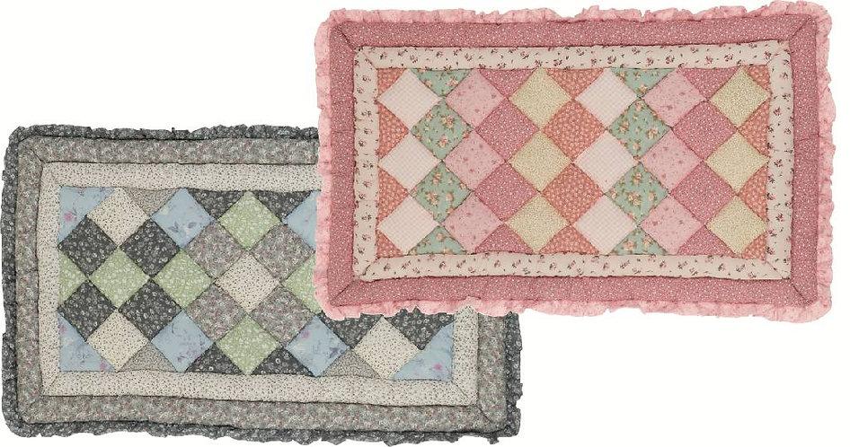 Holly - Tappeto trapuntato rosa 45x75