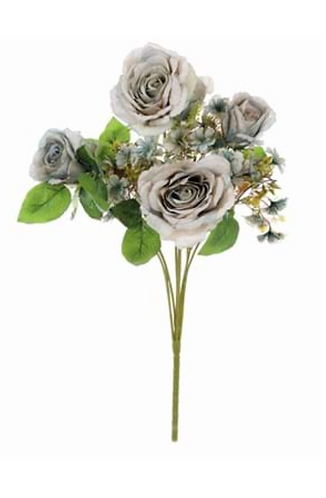 Garden Flowers - Bouquet rose polvere con fiorellini