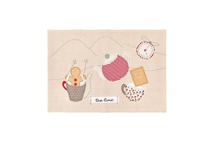 Tea Time - Tovaglietta Ginger 33x48