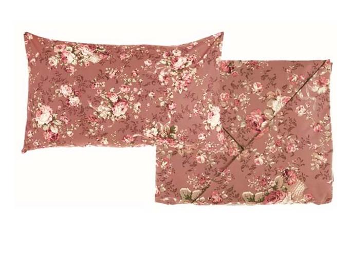Marella - Completo matrimoniale fondo rosa