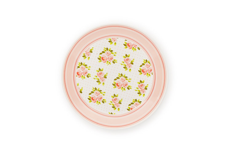 Margaret - Piatto 16,5cm. rosa porcellana