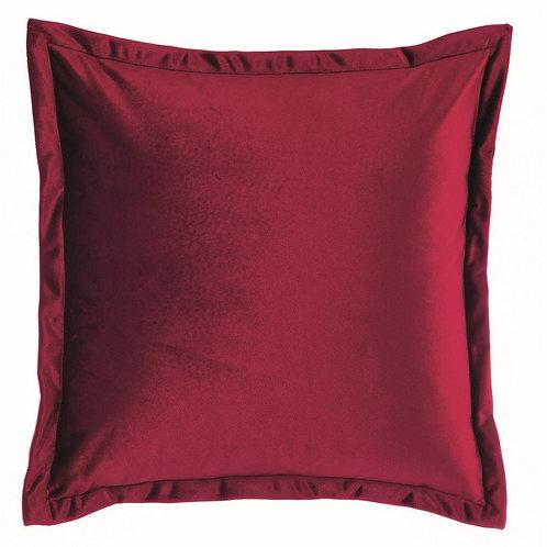 Tempera - Cuscino velluto rosso 45x45