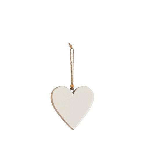 Nordic - Pendente cuore legno 10h