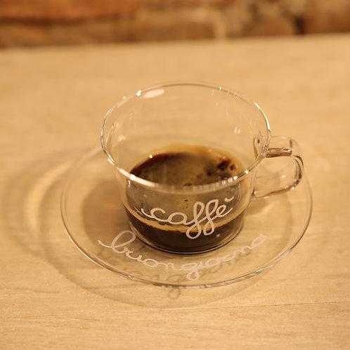 """Lovely - Set 2 tazzine """"caffè buongiorno"""""""