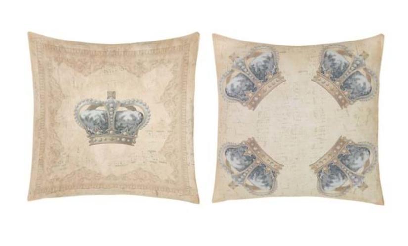 Devota Crown - Set 2 cuscini 60x60