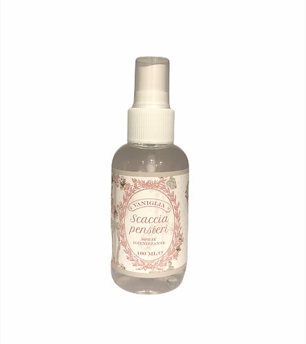 Scaccia Pensieri - Spray Igienizzante 100 ml Vaniglia
