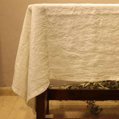 Pan di Lino - Tovaglia color bianco 140x330