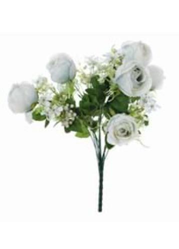 Garden Flowers - Bouquet di rose bianche