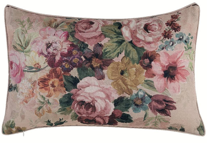 Antique Rose - Cuscino rettangolare con rose