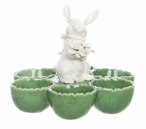 Le Pàques Gourmand - Porta uova con coniglio