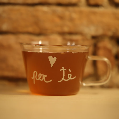 "Lovely - Set 2 tazze medie ""per tè"""