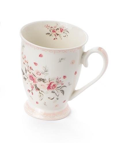 Sophie - Mug roselline fondo bianco