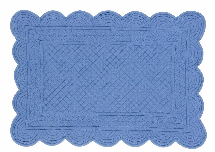 Carmen - Tovaglietta rettangolare azzurro 35x50