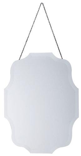 Specchio Blanc - Ovale con catena