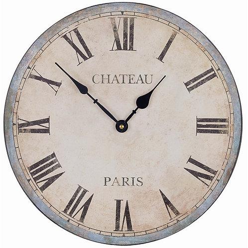 Trova il Tempo - Orologio Chateau Paris cm.33,4 h