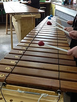 African marimba group at SHFGS