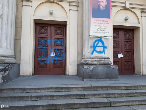 Atak na kościół