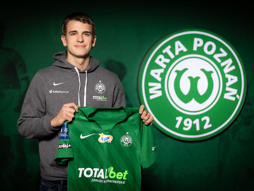 Nowy zawodnik Warty