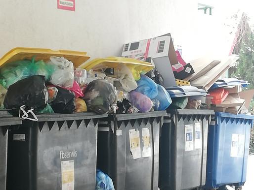 Jaśkowiak o śmieciach