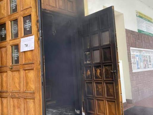 Podpalono kościół w Lublinie