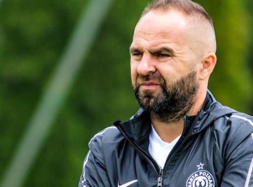 Chcemy pozostać w ekstraklasie - trener Warty Poznań