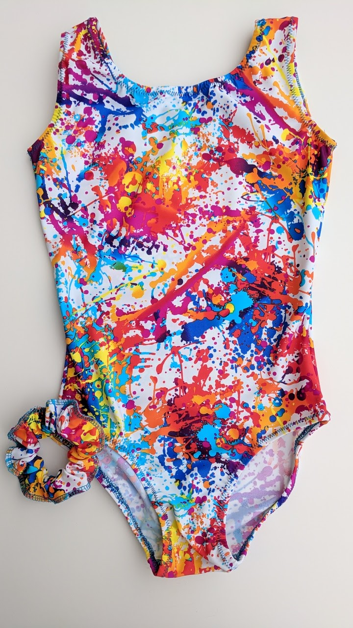 Abstract print mix colors
