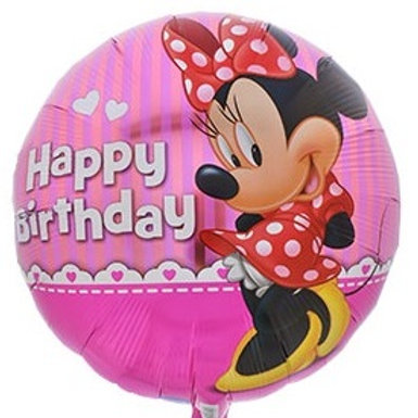 "Minnie Mouse ""Happy Birthday"" Balloon"
