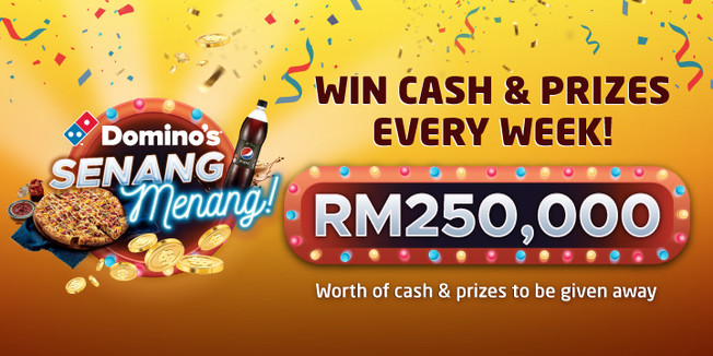 Stories from Domino's Pizza Malaysia's Senang Menang Contest to Warm Your Heart