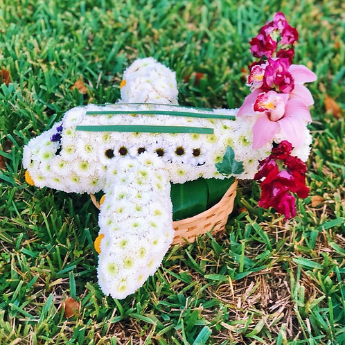Aircraft Flower Toy
