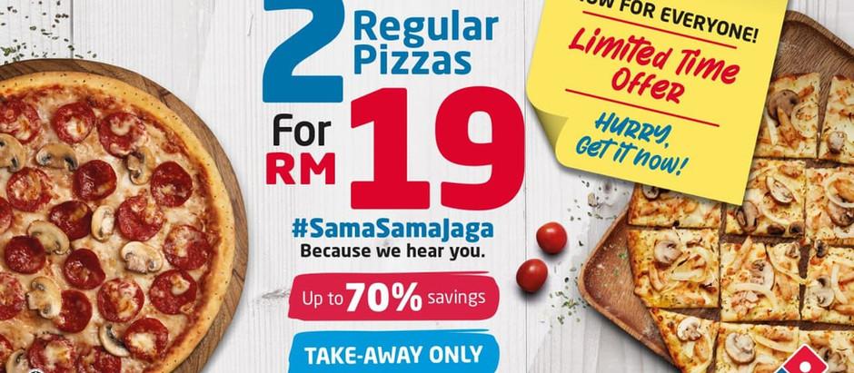Kempen #SamaSamaJaga Domino's Pizza: Tanda Cinta Kepada Rakyat Malaysia