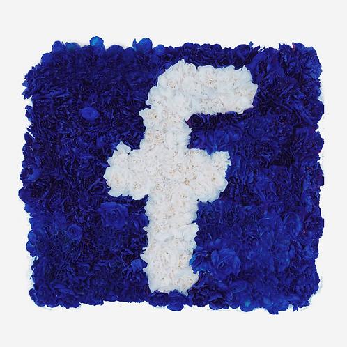 Facebook Flower Logo