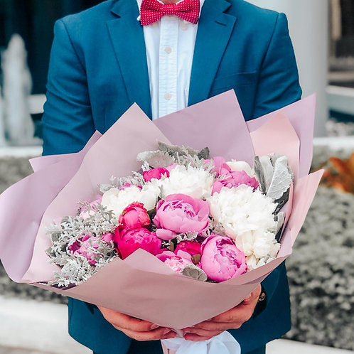 Send Love - Peonies Bouquet
