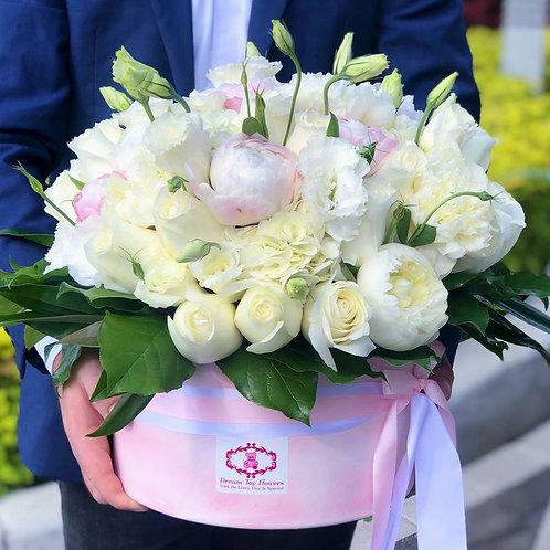 Bright Flower Hatbox