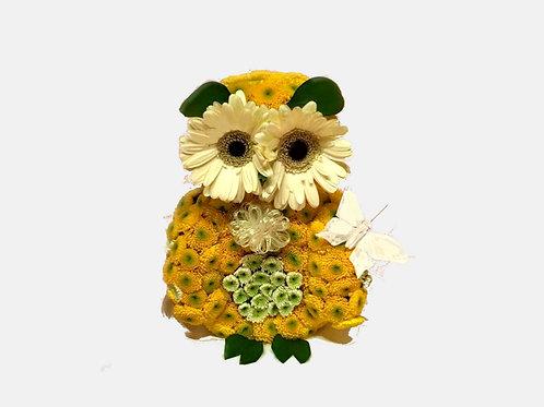 Smart Owl Flower Toy