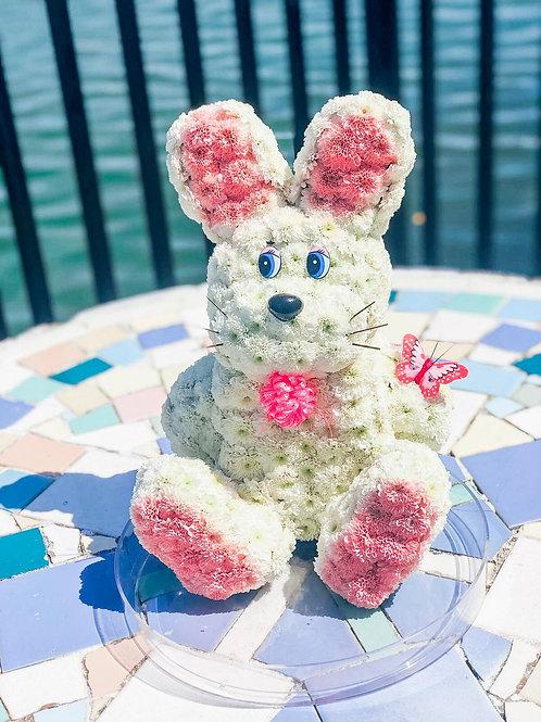 Pink Dream Rabbit Flower Toy