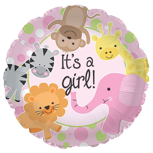 """It's a Girl!"" Baby Shower Balloon"