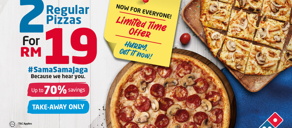 A Domino's Pizza Promotion That Takes What Was, and Makes It Bigger than Ever