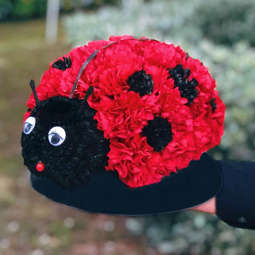 Adorable Ladybird Flower Toy