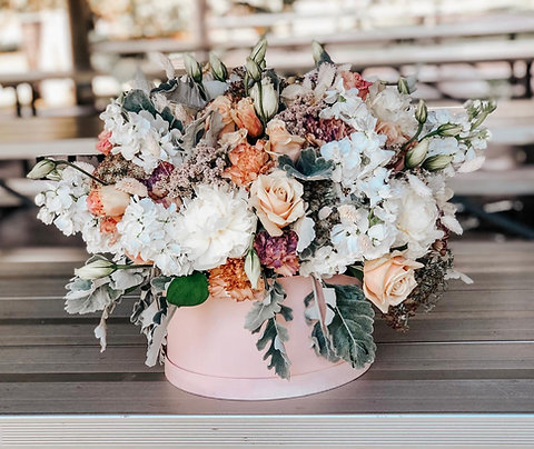 Wild Love Flower Hatbox