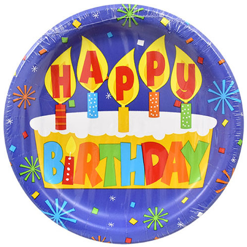"""Happy Birthday"" Blue Balloon"