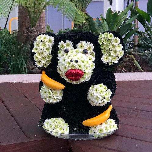Funny Monkey Flower Toy
