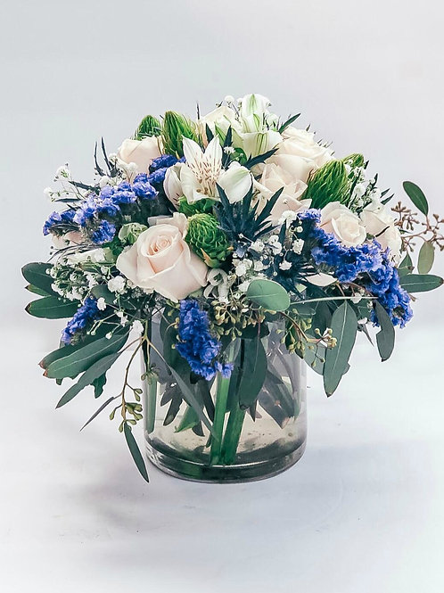 Shades of Blue - Flowers for Him