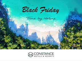 Black Friday -50% con Constance hotel & Resort