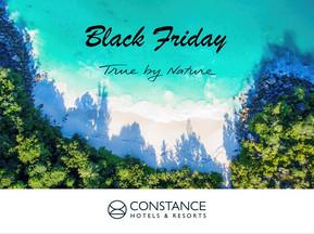 Black Friday -50% con Constance hotel & Resort
