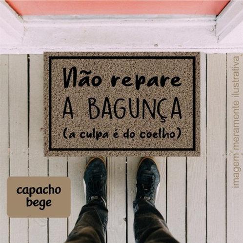 Capacho Bagunça do Coelho