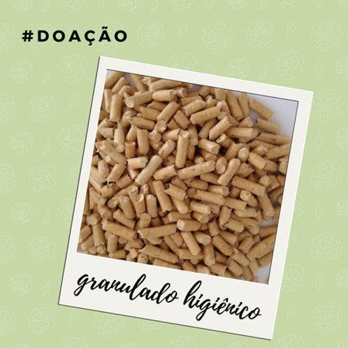 #DOAÇÃO: Granulado Higiênico