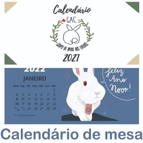 Calendário de Mesa do GAC - 2021
